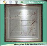 Carrelage de plafond classique en aluminium artistique en plafond