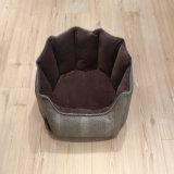 مسيكة صغيرة كلب منتوجات سرير [بو] جلد رفاهية كلب سرير