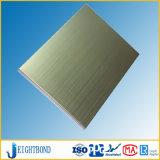 El panel superficial del panal del acero inoxidable Ss304 del cepillo