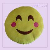 노란 색깔을%s 가진 재미있은 귀여운 Emoji 베개 방석