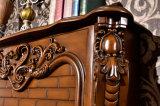 Cheminée électrique de sculpture d'hôtel de meubles de chaufferette antique d'éclairage LED (325B)