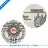 Desafio de liga de zinco moeda personalizada para a Polícia Militar