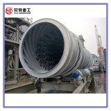proteção de ambiente do secador de cilindro de 10mm planta de mistura quente do asfalto da mistura de 120 T/H