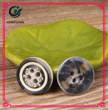 Bouton rond de configuration de bouton de chemise décorative de résine