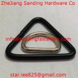 Anello saldato nichelato del triangolo del acciaio al carbonio