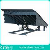 정지되는 조정 창고 유압 트럭 콘테이너 조정가능한 선적과 내리기 선창 경사로