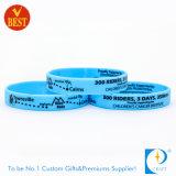 La Chine imprimés promotionnels Bracelet en silicone pour l'activité Don