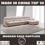 Divany L moderna sofà sezionale del cuoio genuino di figura