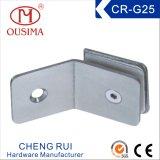 正方形のシャワー室のガラス固定クランプ(CR-G25)