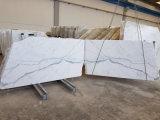 Laje de mármore de mármore branca italiana de Calacutta