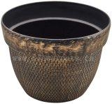 装飾的な花プランター鍋(KD7801S)
