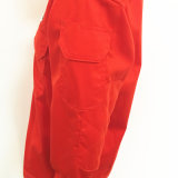 Orange passen Franc-Baumwollarbeitskleidung für Fabrik an