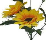 Singolo gambo fiore artificiale/di plastica/di seta del girasole (XF30028)