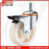 5 Zoll-Nylonschwenker-Fußrolle mit Hochtemperaturrad