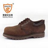 Zapatos de seguridad de acero de Goodyear de la punta con el certificado del Ce (SC-8826)