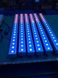 Barra della rondella della parete del LED indicatore luminoso esterno di 3W X di 18PCS RGB