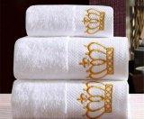 De sneldrogende Hoge in rang Katoenen van de Jacquard van het Hotel Handdoeken van het Bad/van het Gezicht