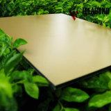Panneau composé en aluminium ininflammable de matériau de construction (AF-401)