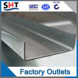 Canal de precio de fábrica de precio de la barra de acero