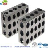 ステンレス鋼の精密はブロックのコンポーネント、CNCの製粉のブロックを機械で造った