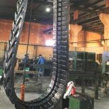 Pista di gomma dell'escavatore (400X72.5X70W) per il macchinario di costruzione del gatto selvatico