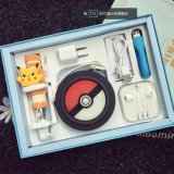 Casella mobile 8000mAh stabilito della Banca di potere dell'alimentazione elettrica del fumetto di Pokemon
