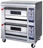 Reputación confiable equipo de panadería horno de gas en el precio de fábrica