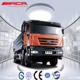 vrachtwagen van de Stortplaats Kingkan van 340HP saic-Iveco Hongyan de Op zwaar werk berekende Nieuwe 8X4/Kipper