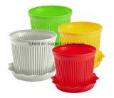 カラープラスチック植木鉢(KD9301N-KD9303N)