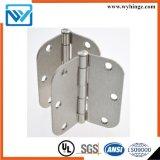 Bisagra de puerta del hardware del acero o del hierro (bisagra de tope del modelo de 3.5 pulgadas)