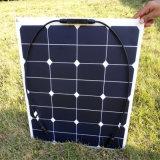 panneau solaire flexible de 18V 50W pour la batterie 12V