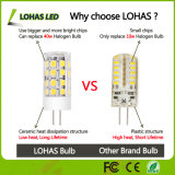 mini LED bombilla del bulbo G4 LED del maíz de 12V 110-240V 1W 2W 3W 5W