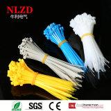 Горячие связи застежка-молнии сбывания/связь оборачивают /Self фиксируя nylon связи кабеля