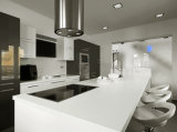 Carrara White Engineered Quartz Stone Countertop