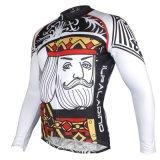 Король Ceaser велосипедного спорта на открытом воздухе рубашки Джерси длинной втулки