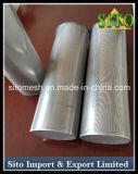 Filtro do cilindro do engranzamento do aço inoxidável 304