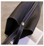 Signora di cuoio Handbags dell'unità di elaborazione di stile di disegno di contrasto di colore della spalla semplice di modo