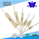 resistori Wirewound di ceramica del cemento di 5W 10W