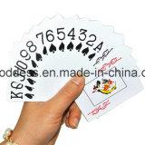 Cartões de jogo 100% plásticos Washable personalizados do póquer, cartão de jogo feito sob encomenda, Tarot