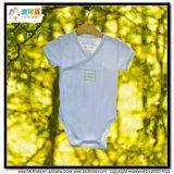 보통 파란 아기 의복 일본 옷 작풍 아기 바디
