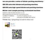 새로운 디자인과 디스크 테이블을%s 가진 Qibo 상표 PVC 물집 Papecard 포장기