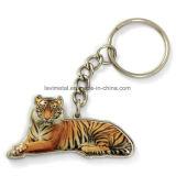 주문 3D 야생마 동물성 모양 금속 Keychain