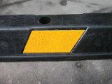 batente de borracha amarelo e preto de 1.83m de carro da roda
