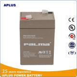La meilleure batterie bien choisie d'alimentation de secours 6V 4ah pour le système d'UPS