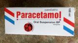 Suspensión oral del paracetamol