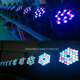 indicatore luminoso bianco caldo della fase di PARITÀ di 54PCS*3W LED