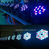 luz blanca caliente de la etapa de la IGUALDAD de 54PCS*3W LED