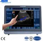 Système d'échographie-Doppler de couleur d'écran tactile d'être humain/vétérinaire 22inch DEL
