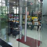 Porte a battenti di Frameless di alta qualità le doppie con Tublar tratta K08004