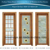 Дверь нового способа алюминиевая стеклянная с Toughened (Tempered) стеклом